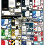 دانود 25 ست اداری کامل طرح وکتور لایه باز ShutterStock Corporate Identity Template