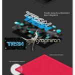 دانلود پلاگین و اکشن فتوشاپ سه بعدی سازی 3D Layers
