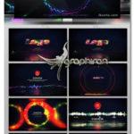 دانلود پروژه افترافکت 5 ویژوالایزر موزیک موجی شکل Audio Waveform Visualization AE Template