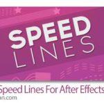 دانلود Speed Lines 1.5 Win/Mac اسکریپت افترافکت ساخت مسیر خطوط انیمیشن