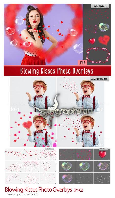 دانلود تصاویر پوششی قلب و حباب قلبی پراکنده