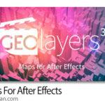 دانلود GEOlayers 3 v1.0.0.219 Win/Mac اسکریپت افترافکت ساخت نقشه انیمیشن