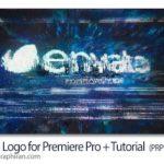 دانلود پروژه پریمیر نمایش لوگو گلیچ و نویز Glitch Logo for Premiere Pro