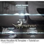 پروژه آماده افترافکت ویژوالایزر و کلیپ موزیک Music Visualizer After Effects Template