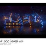 دانلود پروژه افترافکت نمایش و ارائه لوگوی پلاسمایی Plasma Logo Reveal