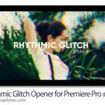 پروژه آماده پریمیر اوپنر گلیچ و ریتمیک Rhythmic Glitch Opener for Premiere Pro