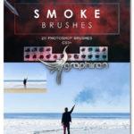 دانلود براش های دود با کیفیت فتوشاپ Smoke Photoshop Brushes