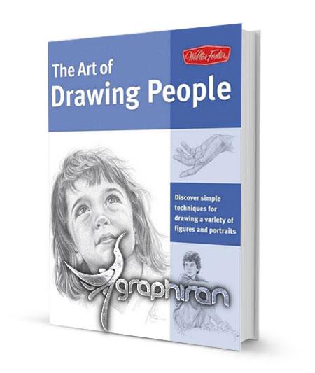 دانلود کتاب آموزش گام به گام طراحی چهره با مداد The Art of Drawing People