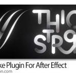 دانلود Thicc Stroke v0.1 Win/Mac اسکریپت افترافکت ساخت خطوط انیمیشن