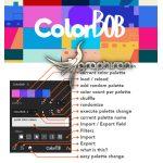 دانلود ColorBob 1.0 Win/Mac اسکریپت افترافکت مدیریت و ساخت پالت های رنگ
