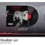 دانلود پروژه آماده افترافکت ویژوالایزر موزیک با عکس Music Visualizer