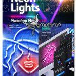 دانلود پلاگین فتوشاپ ساخت افکت نئون Neon Lights + فیلم آموزش