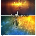 دانلود 2 پروژه افترافکت لوگو با ذرات پراکنده Particles Logo Reveal
