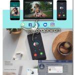 دانلود پروژه افترافکت تماس تصویری و ویدئوکال Social Media Voice & Video Calls V1.1