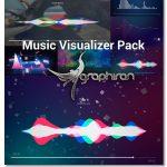 دانلود رایگان پک ویژوالایزر آهنگ افترافکت Music Visualizer Pack