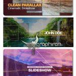 دانلود 2 پروژه آماده پریمیر و افترافکت اسلایدشو پارالاکس Parallax Slideshow
