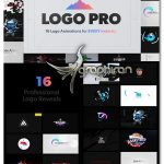 دانلود پک پروژه افترافکت انیمیشن های نمایش لوگو Logo Pro | Logo Animation Pack