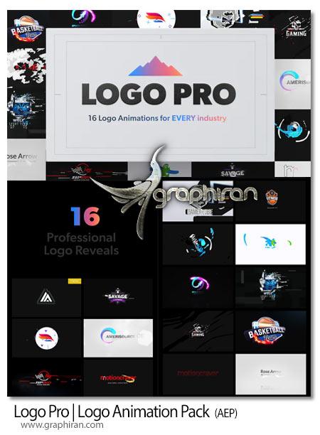دانلود پک پروژه افترافکت انیمیشن های نمایش لوگو