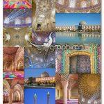 دانلود 23 عکس با کیفیت مسجد نصیرالملک شیراز Nasir Al-Mulk Mosque in Shiraz