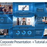 دانلود پروژه آماده افترافکت پرزنتیشن تجاری شرکتی Clean Corporate Presentation