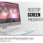 دانلود پروژه افترافکت پرزنتیشن روی مانیتور کامپیوتر Desktop Screen Presentation