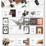 دانلود قالب پاورپوینت کافه و کافی شاپ Coffee Shop & Cafe Powerpoint Template