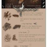 دانلود براش های فتوشاپ خز و مو Fur Brushes for Photoshop + Update