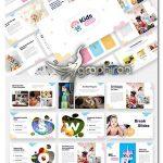 دانلود قالب پاورپوینت کودکانه و بچه گانه Kids & Baby Powerpoint Template