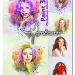 دانلود اکشن جدید فتوشاپ نقاشی فانتزی Paint Photoshop Action