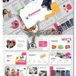دانلود قالب پاورپوینت پت شاپ و حیوانات Pet Care & Pet Shop Powerpoint Template