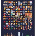 دانلود 150 آیکون سفر و گردشگری وکتور Traveling 150+ Icons Vol.6