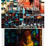 دانلود 110 تصویر پوششی بوکه نور خیابان و شهر Urban Bokeh Street Overlay