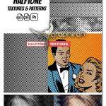 دانلود مجموعه تکسچر و پترن فتوشاپ هافتون یا ترام Photoshop Halftone Textures & Patterns