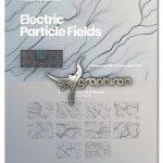 دانلود براش فتوشاپ جریان الکتریسیته Electric Particle Fields Photoshop Brushes