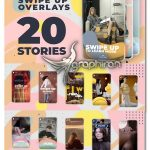 دانلود پروژه افترافکت 20 استوری اینستاگرام با لینک Instagram Swipe Up Stories