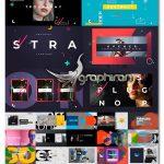 دانلود 3 پروژه افترافکت اوپنر سبک تایپوگرافی مدرن Typographic Opener Pack