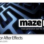 دانلود mazeFX 1.2 Win/Mac اسکریپت افترافکت ساخت هزارتو