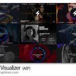 دانلود رایگان پروژه افترافکت 22 ویژوالایزر موزیک Music Visualizer V.1