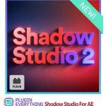 دانلود Shadow Studio 2 پلاگین افترافکت ساخت سایه های 3 بعدی حرفه ای