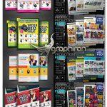 دانلود 10 طرح تراکت و پوستر تبلیغاتی محصولات Product Promotion Flyer Bundle