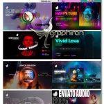 دانلود کیت افترافکت ساخت ویژوالایزر موسیقی Audio Visualization Social Media Kit