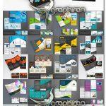 دانلود مجموعه 30 طرح وکتور لایه باز بروشور Brochure Template Design Bundle