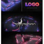 دانلود رایگان پروژه افترافکت لوگو دیجیتال 3 بعدی Digital 3D Logo Reveal