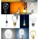 دانلود مجموعه عکس شاتراستوک لامپ با کیفیت ShutterStock Light Bulb