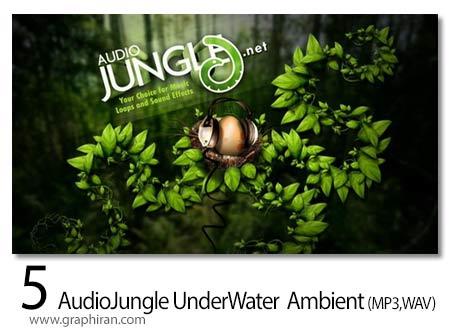 دانلود 5 افکت صوتی زیر آب و اعماق دریا AudioJungle Underwater