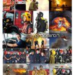 دانلود 25 عکس استوک آتش نشانی با کیفیت FireFighter Stock Photo