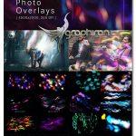 دانلود 20 تصویر پوششی نورهای جادویی Magic Photo Overlays