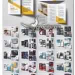 دانلود 24 طرح بروشور تبلیغاتی لایه باز Business Trifold Brochure Bundle