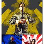 دانلود پلاگین فتوشاپ افکت پوستر سامورایی Samurai Photoshop Plugin