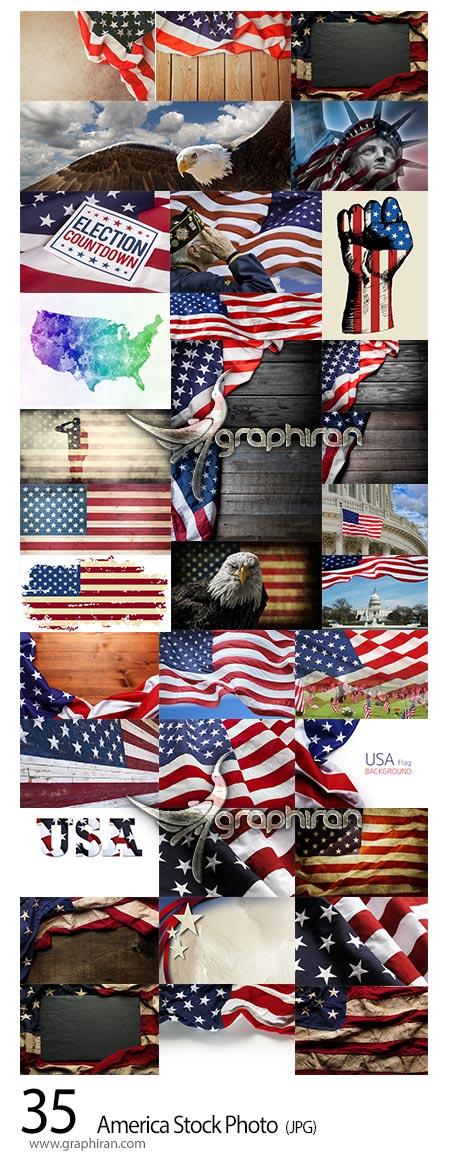 دانلود 35 عکس استوک کشور و پرچم آمریکا American Patriot Stock Photo